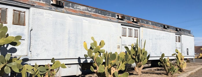 Western America Railroad Museum is one of Barstow.