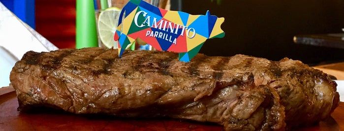Caminito Parrilla is one of Locais salvos de Gustavo.