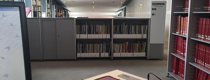 Médiathèque de la Cité de la Musique is one of Samet 님이 좋아한 장소.