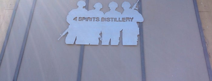 4 Spirits Distillery is one of Oregon Distillery Trail.