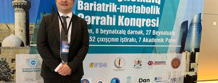 Bakı Konqres Mərkəzi is one of Op. Dr. Fakı AKIN'ın Beğendiği Mekanlar.
