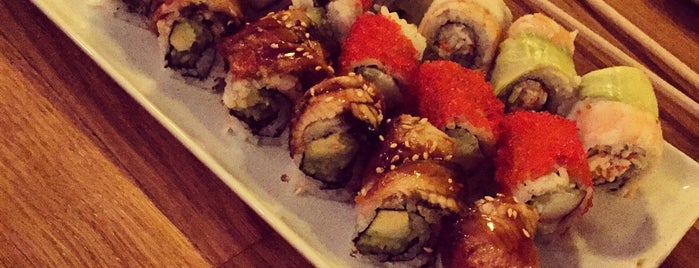 Miyabi Sushi is one of Lugares favoritos de Op Dr.
