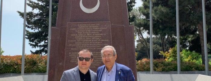 Baku Türk Şehitliği is one of Tempat yang Disukai Op Dr.