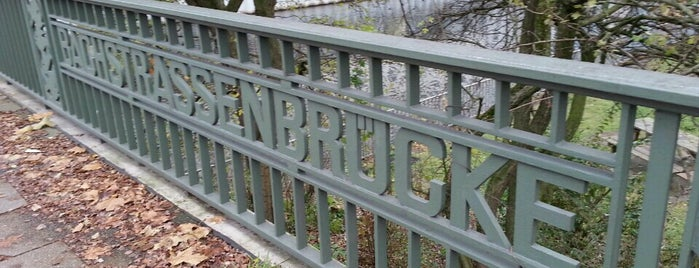 Bachstraßenbrücke is one of Posti che sono piaciuti a Fd.