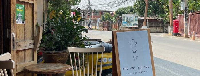 The Owl School Coffee is one of พะเยา แพร่ น่าน อุตรดิตถ์.