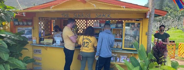 The Sunrise Shack is one of Tempat yang Disukai Sydney.