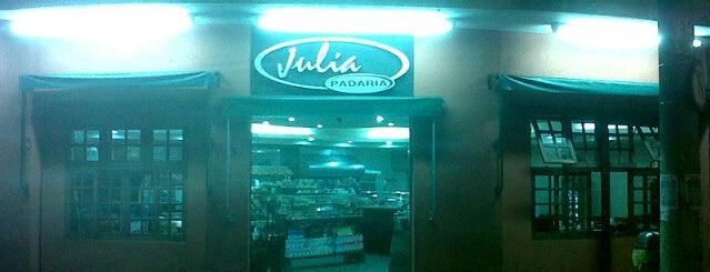 Padaria Júlia is one of Locais curtidos por Cledson #timbetalab SDV.