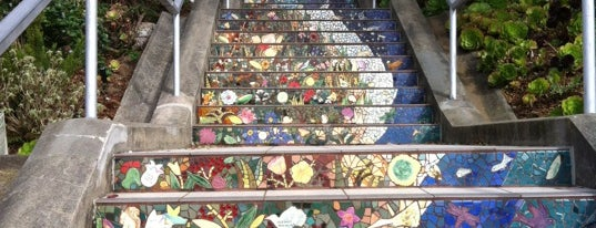 Golden Gate Heights Mosaic Stairway is one of San Francisco Dos.