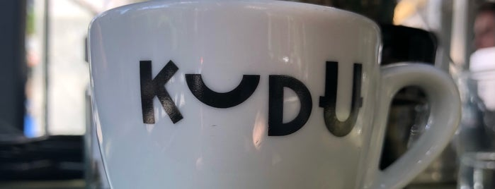 Kudu Coffee Roasters is one of Athens.