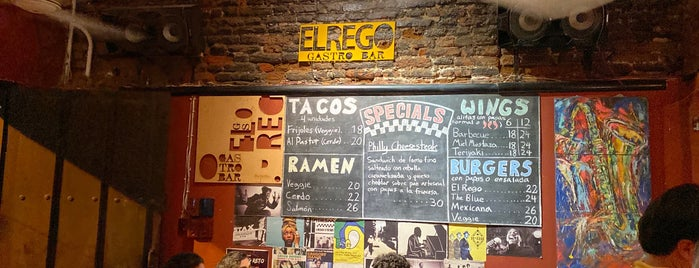 El REGO gastro-bar is one of Colombia.