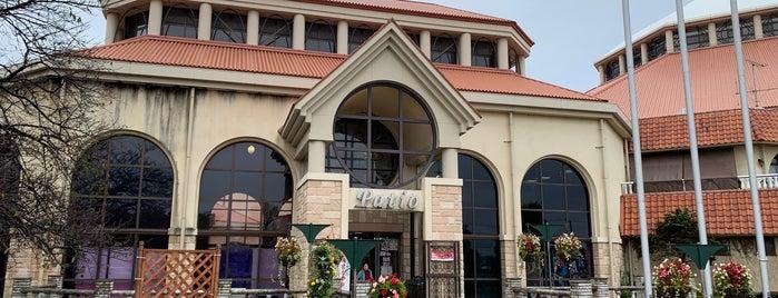 AQUA PARADISE Patio is one of Tempat yang Disukai Masahiro.