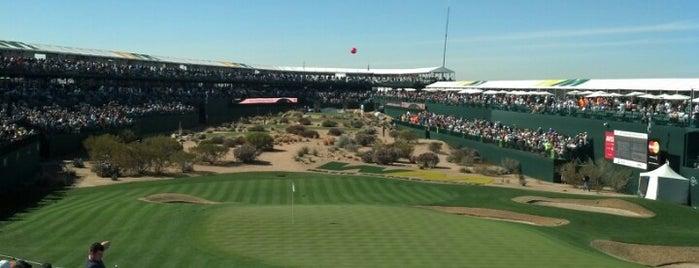 #16 Green -TPC Scottsdale is one of Lieux qui ont plu à Jordan.
