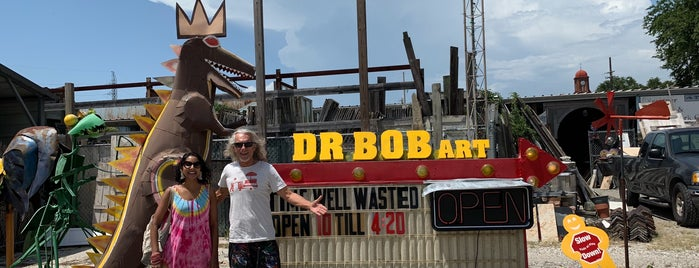 Dr Bob Art is one of New Orleans.