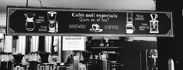 Cafés El Magnífico is one of Damn good coffee! And hot!.