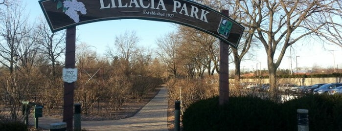 Lilacia Park is one of Illinois's Greatest Places AIA.