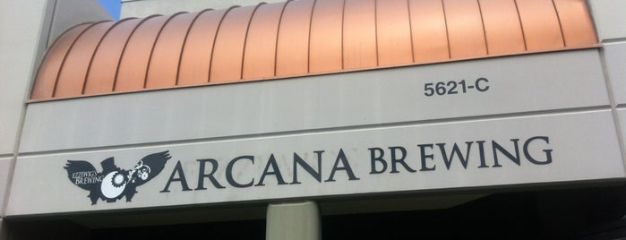 Arcana Brewing Company is one of San Diego.