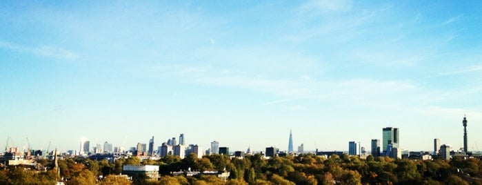 Primrose Hill is one of London Cultural.