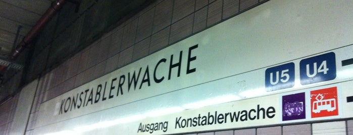 S+U Konstablerwache is one of Best of Frankfurt am Main.