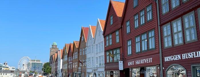 Bryggen is one of bergen.