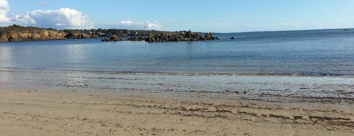 Plage de Port Manech is one of Bretagne.
