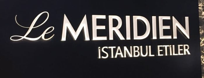 Le Meridien Etiler is one of Lieux qui ont plu à ömer.