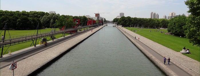 Parc de la Villette is one of Paris.