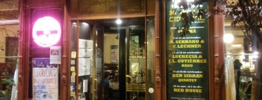 Café Central Madrid is one of OS RECOMIENDO.......