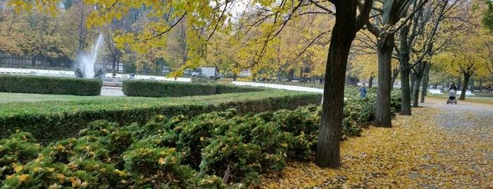 Medická záhrada is one of Anti-crisis Eurotrip.
