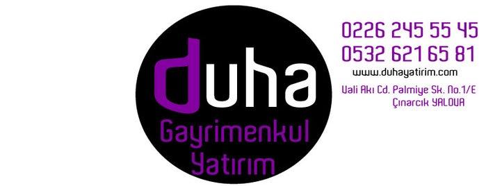 Duha Yatırım Gayrimenkul Danışmanlığı is one of Gizemliさんの保存済みスポット.