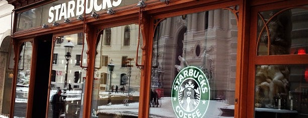 Starbucks is one of Вена.