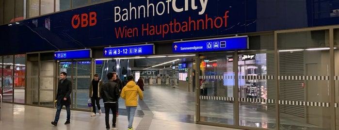 BahnhofCity Wien Hauptbahnhof is one of 🇦🇹 Ö-ITA Genuss 2018.