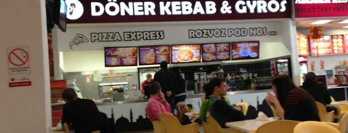 Döner kebab & gyros is one of Posti salvati di Marek.