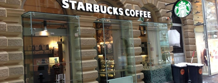 Starbucks is one of Must-Visit ... Vienna.