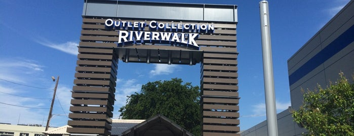 The Outlet Collection at Riverwalk is one of New Orleans, LA.
