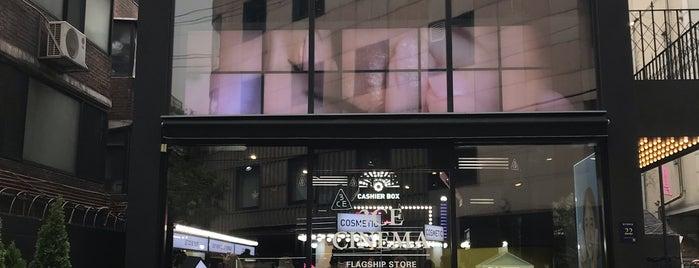 3CE CINEMA is one of Seoul.