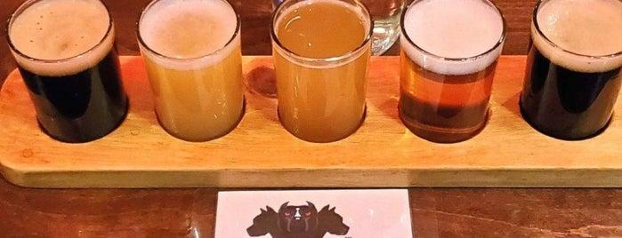 Cerberus Brewing Company is one of Lugares guardados de Allison.