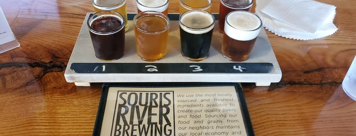 Souris River Brewing is one of Minot, ND.