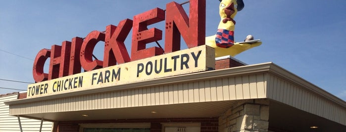 Tower Chicken Farm is one of Places I want to Go.