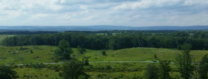 Little Round Top is one of Lugares favoritos de Richard.