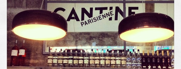 Cantine Parisienne is one of new york spots pt.3.