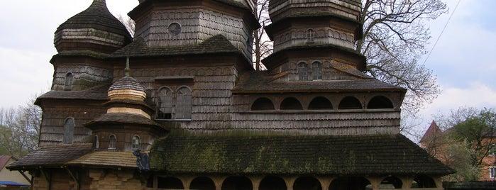 Дерев'яна Церква святого Юра, XVI ст. / Wooden Church of st. Yuriy is one of UNESCO World Heritage Sites in Eastern Europe.