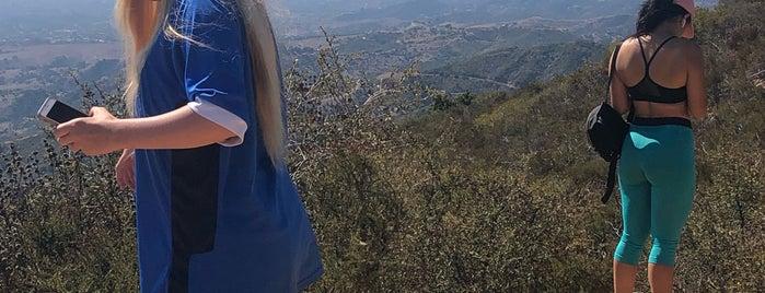 La Cumbre Peak is one of Santa Barbara.