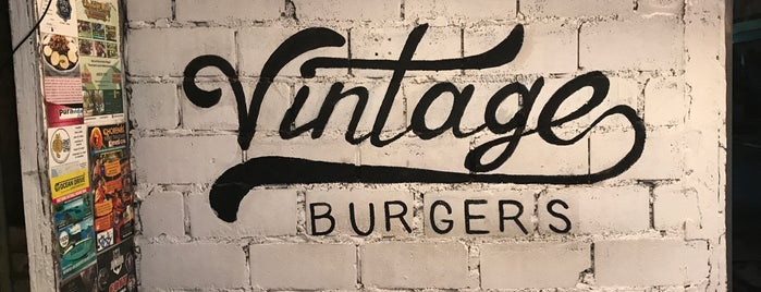 vintage burger is one of Bg pH.