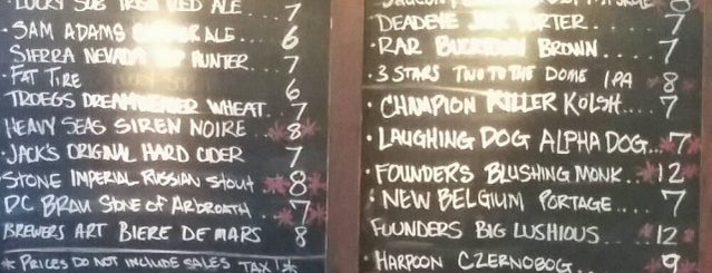 Iron Horse Tap Room is one of Beer bars of DC.