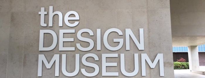 The Design Museum is one of Lieux qui ont plu à Jorge.