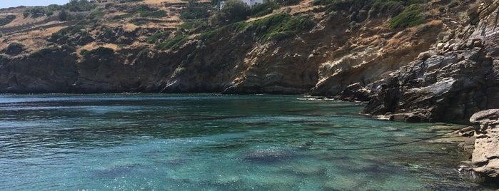 Kolitsani beach is one of Ios, Greece.
