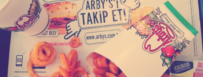 Arby's is one of Lieux qui ont plu à Özgür.