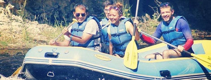 Sunshine Rafting Adventures is one of Knights Ferry.