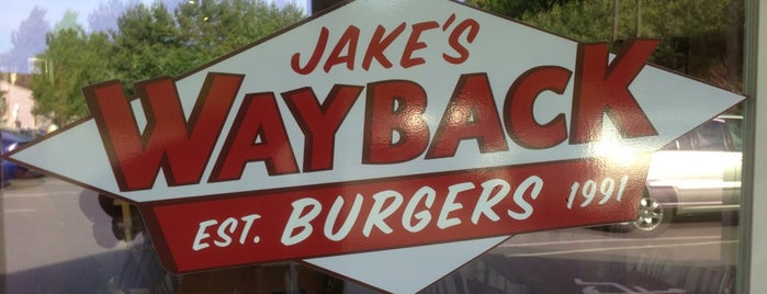 Jake's Wayback Burgers is one of Hartford Burger Joints.