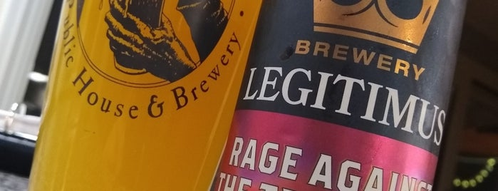 Brewery Legitimus is one of Breweries I've been to.